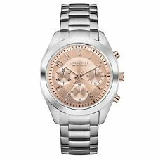 Caravelle New York Women's Casual Watches with Chronograph