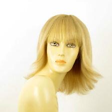 wig for women 100% natural hair light blond ref TABATA 22 PERUK
