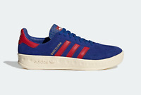 adidas Originals Barcelona Suede Trainers in Blue and Red