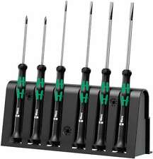 Wera 05118150003 Kraftform Micro 2035/6 Slotted/Phillips Electronics Screwdriver