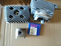 00 SKIDOO ROTAX 440 CYLINDER & PISTON STD SCANDIC ,cleaned ,honed new rings nice