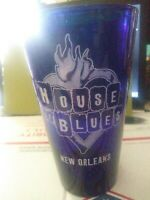 House Of Blues, VINTAGE NEW ORLEANS HOUSE OF BLUES FRENCH QUARTER Glass