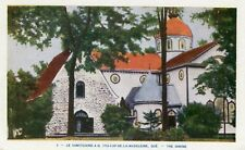 Canada Cap-de-la-Madeleine QC - Shrine old uncommon view postcard