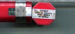 2007 D JOHN  ADAMS  PRESIDENT DOLLAR $20 BU ROLL ICG MS63 OR BETTER