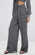 BNWT Denim & Supply Ralph Lauren High Waisted Wide Leg Trousers W 28 UK 10 RP£85