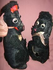 "RARE pair Mme. Alexander labeled ""French Poodle"" 1952 dog dolls, ""Pierre & Zaza"""