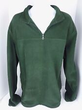 Mens 2XLT Croft & Barrow Green 1/4 Zip Pullover Fleece Jacket