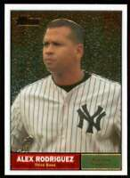 2010 Topps Heritage Chrome #/1961 Alex Rodriguez Yankees #C6