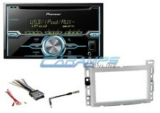 NEW PIONEER DOUBLE 2 DIN CD CAR STEREO RADIO RECEIVER W/ DASH KIT & HARNESS