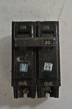 GE TQL2150 2 Pole 50 Amp Circuit Breaker