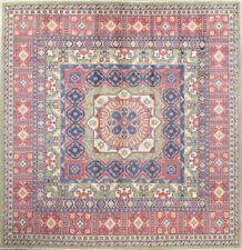 NEW Kazak Oriental 10 x 10 Wool Hand-Knotted Geometric Area Square Rug Carpet