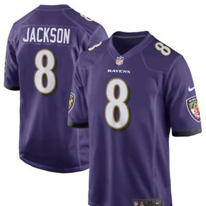 Baltimore Ravens Lamar Jackson #8 Nike Game Jersey