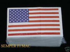 MADE IN US 100 HARD HELMET BIKER RACING FOOTBALL STICKER DECAL USA FLAG PIN UP