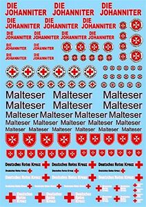St.John Maltheser Red Cross #3 Rescue Services 1:43 Decal