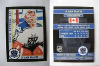 2015 SCA Ryan Bach Los Angeles Kings goalie never issued produced #d/10