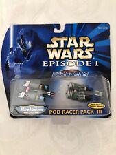 BRAND NEW Micro Machines Star Wars Episode I Pod Racer Pack III