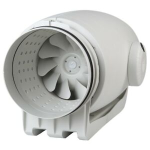 Soler and Palau TD 800/200 Silent In-line mixed flow duct fans ultra-quiet