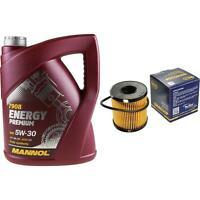 Ölwechsel Set 5L MANNOL Energy Premium 5W-30 + SCT Ölfilter Service 10164362