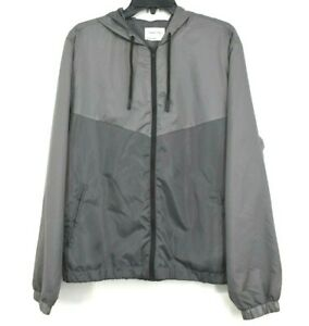 Sovereign Code Mens Catch Windbreaker Jacket Full Zip Hooded Colorblock M