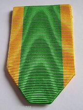 FRANCE: Ruban NEUF plié pour la médaille militaire engagé volontaire.