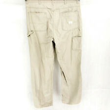 VINTAGE Gap Carpenter 38x34 Canvas Denim Work Pants Relaxed Straight Painters
