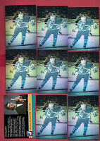 9 X RARE 1991-92 PAT FALLOON SPECIAL COLLECTORS EDITION  HOLOGRAM CARD
