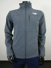 Mens TNF The North Face Apex Bionic FZ Softshell Windproof Jacket Vanadis Grey