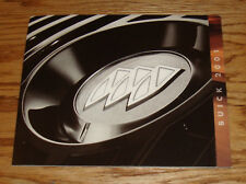 Original 2001 Buick Full Line Sales Brochure 01 Regal LeSabre Century Rendezvous