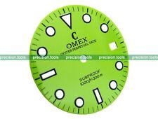 NOS Light Green Grass Color Submariner Scuba Dial For DG2813 Mechanical Movement