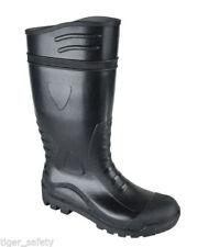 Botas de hombre en color principal negro de goma