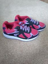 Clarks girls lace-up trainers/shoes infant size 10F