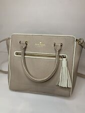 Kate Spade Authentic Cross Body Leather Bag RN 0102760 CA 57710 Beige Trim