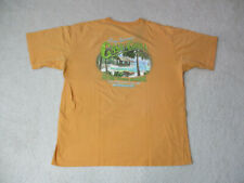 Tommy Bahama Shirt Adult Extra Large Orange Green Casa De Chill Beach Mens *