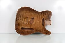 Premium Flamed Maple / Pine Tele guitar body light weight Crazy Flame!