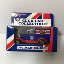AFL FOOTSCRAY BULLDOGS  Car Collectibles Model A Ford 1995 Matchbox Toys NEW