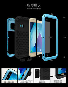LOVE MEI Shockproof Heavy Duty Metal Case Cover For Samsung Galaxy A520 (2017)
