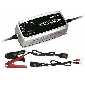 Chargeur batterie CTEK MXS 7 A 12V de 14-150ah