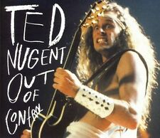 Rare TED NUGENT Out of Control Deluxe 2 CD Set 34 songs 40 pg book SEALED gonzo