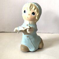 "Precious Moments Universal Statuary Christmas Caroler Singing Girl #2731 12"""
