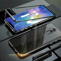 Hülle Magnet Huawei Mate 20 Lite Schutzhülle Glas Handy Tasche Panzer Case Cover