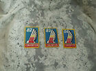 3 VTG MICHIGAN AIR CORPS 63  Air Force PATCH  USAAF. BLUE W/GOLD V G COND.