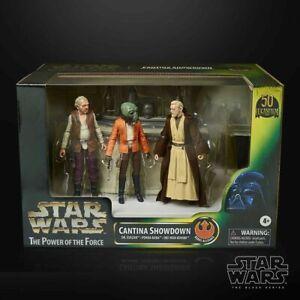 STAR WARS CANTINA SHOWDOWN PLAYSET Obi-Wan Kenobi,Ponda Baba,Dr.Evazan SDCC 2021