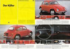 VW Käfer Prospekt   Brochure 16 Seiten - 01-1982