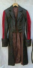 Handmade Brown Leather Suit Cosplay Underworld Steampunk Larp