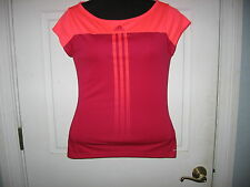 Adidas Response Climacool Small Ladies Bright Orange and Pink