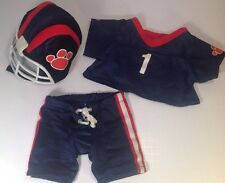 Build A Bear Workshop Football Uniform 3 Piece with Helmet
