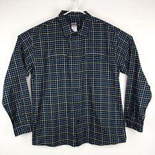 Patagonia Mens Xl Organic Cotton Button Front Plaid Shirt Long Sleeve c40