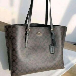 Coach Mollie Tote in Signature Canvas 1665