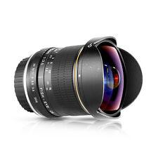 Neewer  8mm f/3.5 Enfoque Manual Fijo HD Lente de Ojo de Pez para Canon