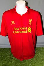 Liverpool Home Adult XXL 12/13 Warrior Football Shirt Soccer Jersey Camesita Kit